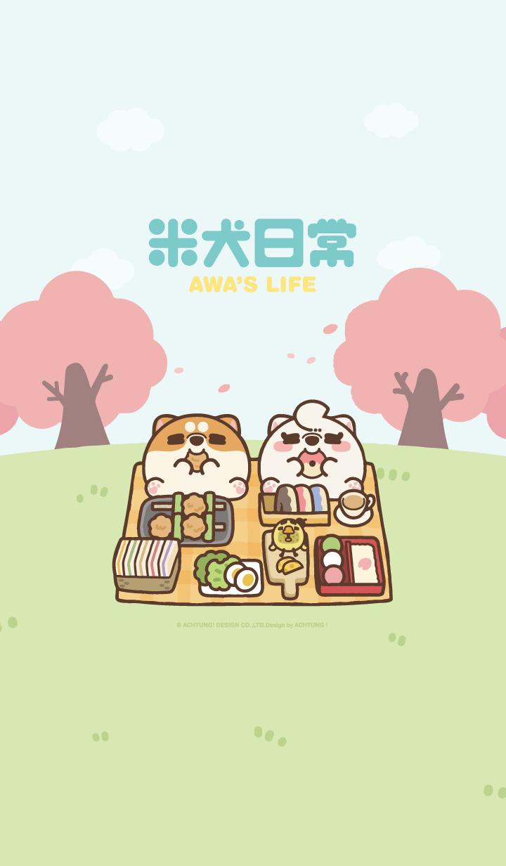 【主題】米犬日常 - 野餐日