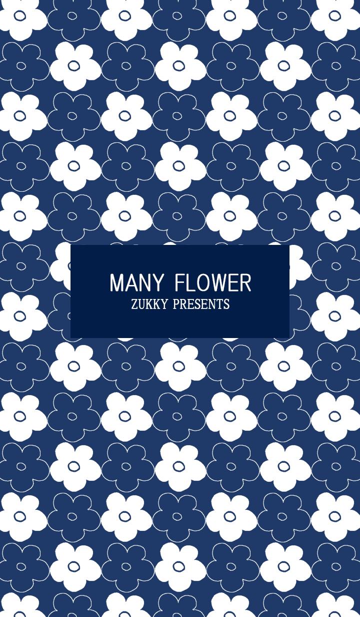 MANY FLOWER72