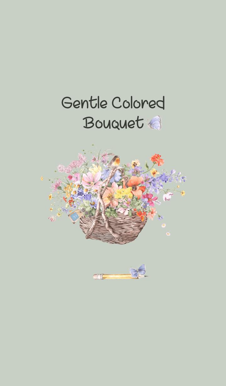gentle colored bouquet 2
