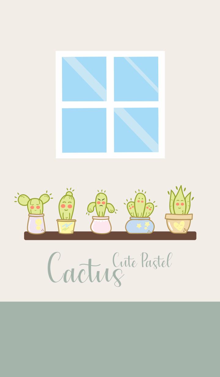 Cactus Cute Pastel