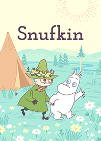 Snufkin & Moomin