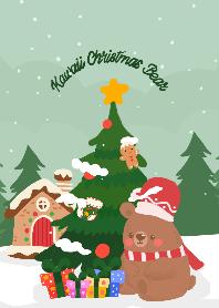 Kawaii Christmas Bear