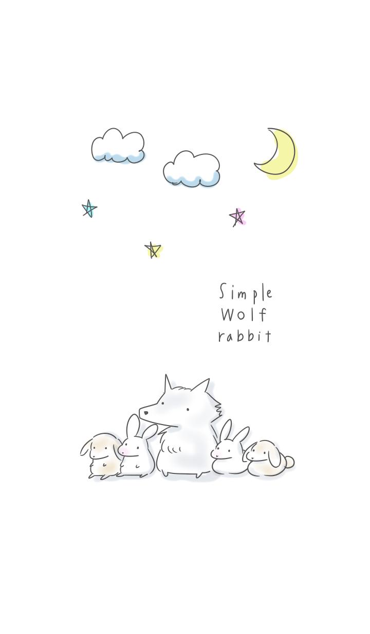 simple wolf Rabbit.