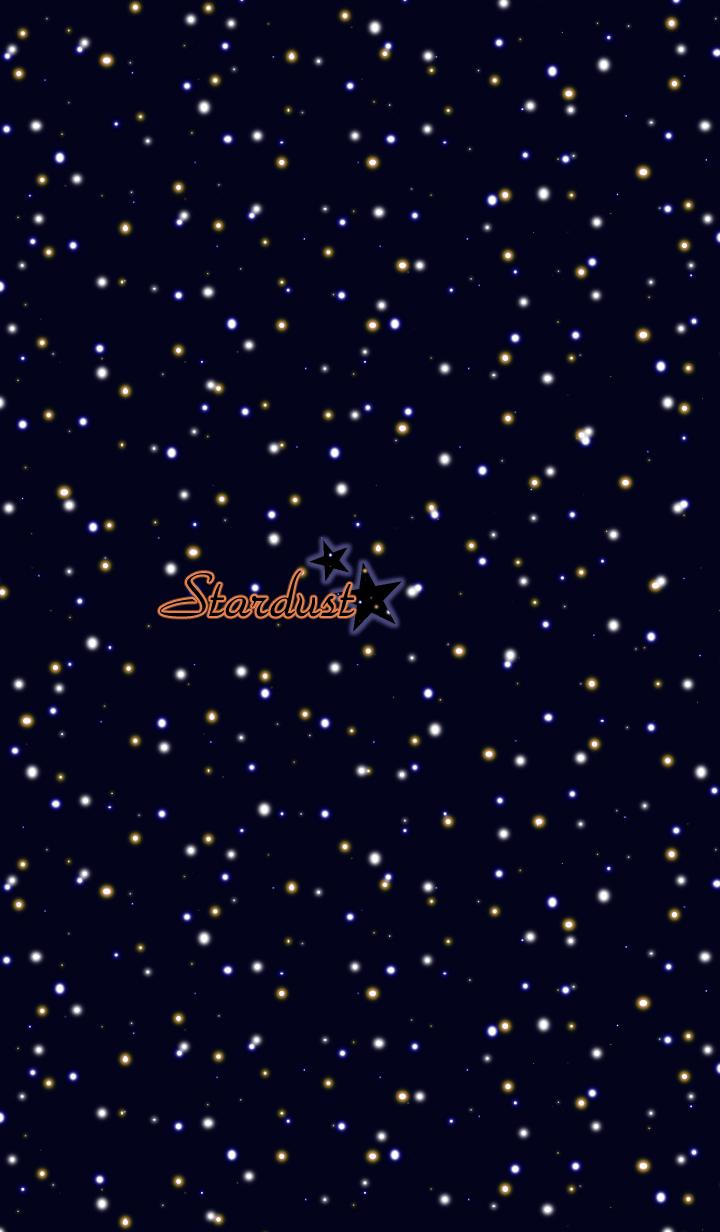Stardust -Navy blue-