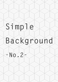Simple Background -No.2-