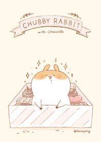 Chubby Rabbit-Chocolate
