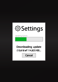 System Setting Update!!