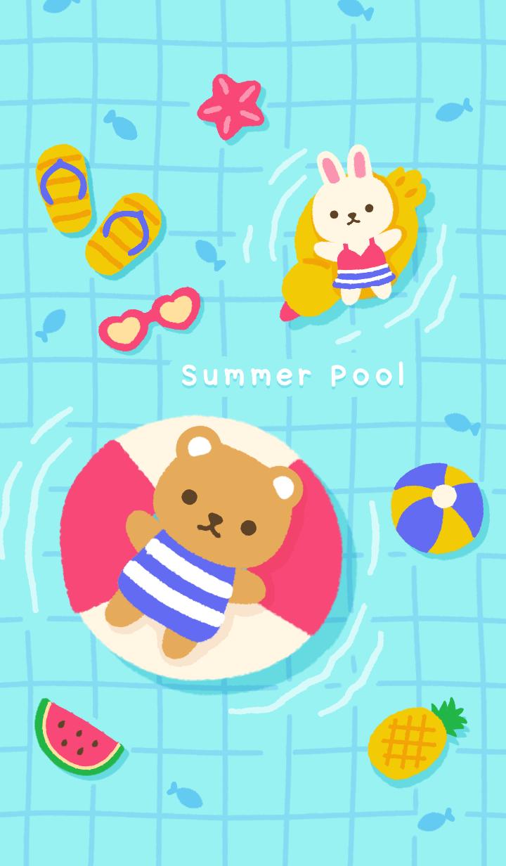 Summer Pool: Juicy Yellow