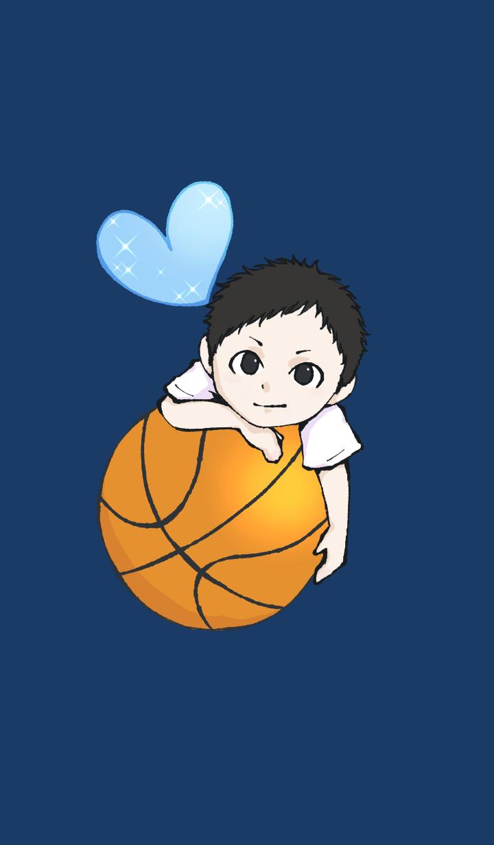 Boy in Basketball club 02