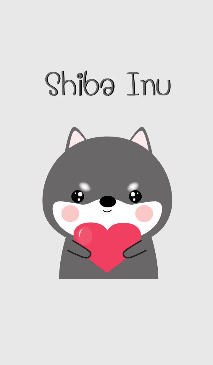 Simple Pretty Black Shiba Theme (jp)
