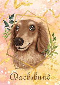 粉漾臘腸狗-2
