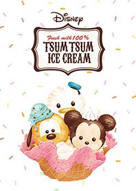 ธีมไลน์ Disney Tsum Tsum ไอติมแสนอร่อย