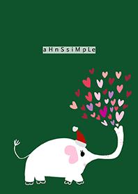 ahns simple_christmas_elephant_right