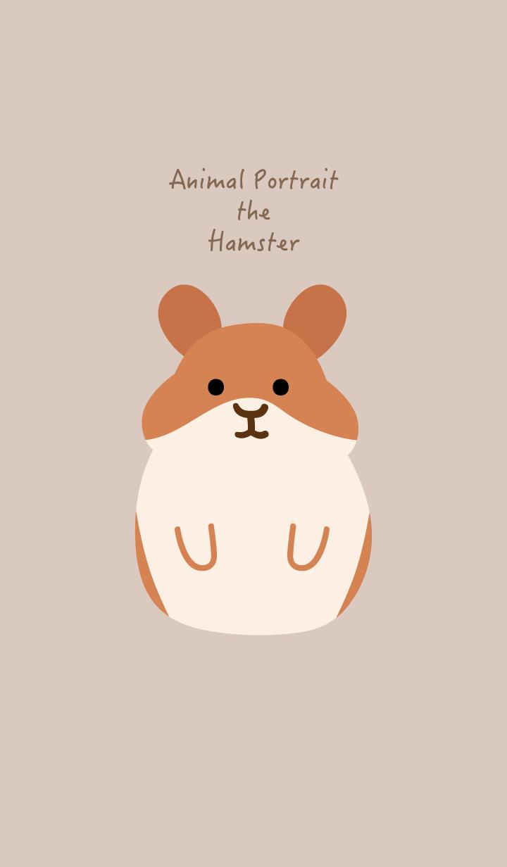 Animal Portrait - The Hamster