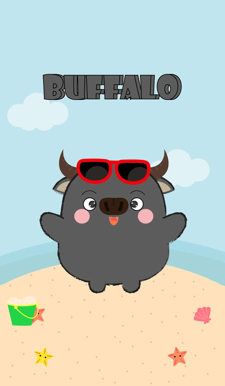 Summer Fat Buffalo theme