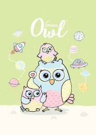 Owl Green.