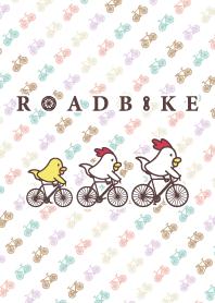 雞連衣裙公路自行車