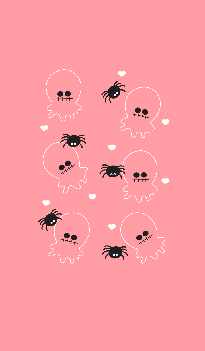 Cute little ghost theme 13