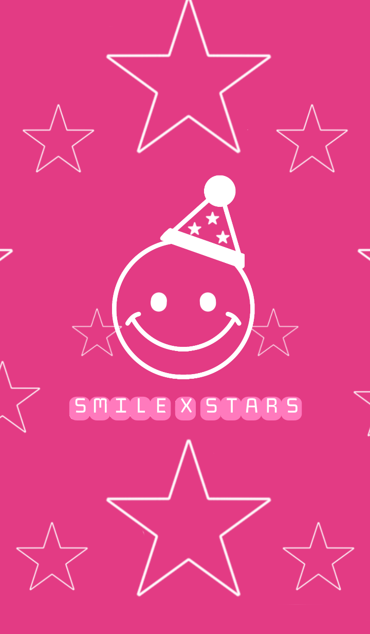 SMILE X STARS * pink ver.