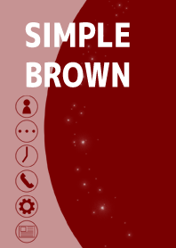 Simple brown thema typeA(50coins)
