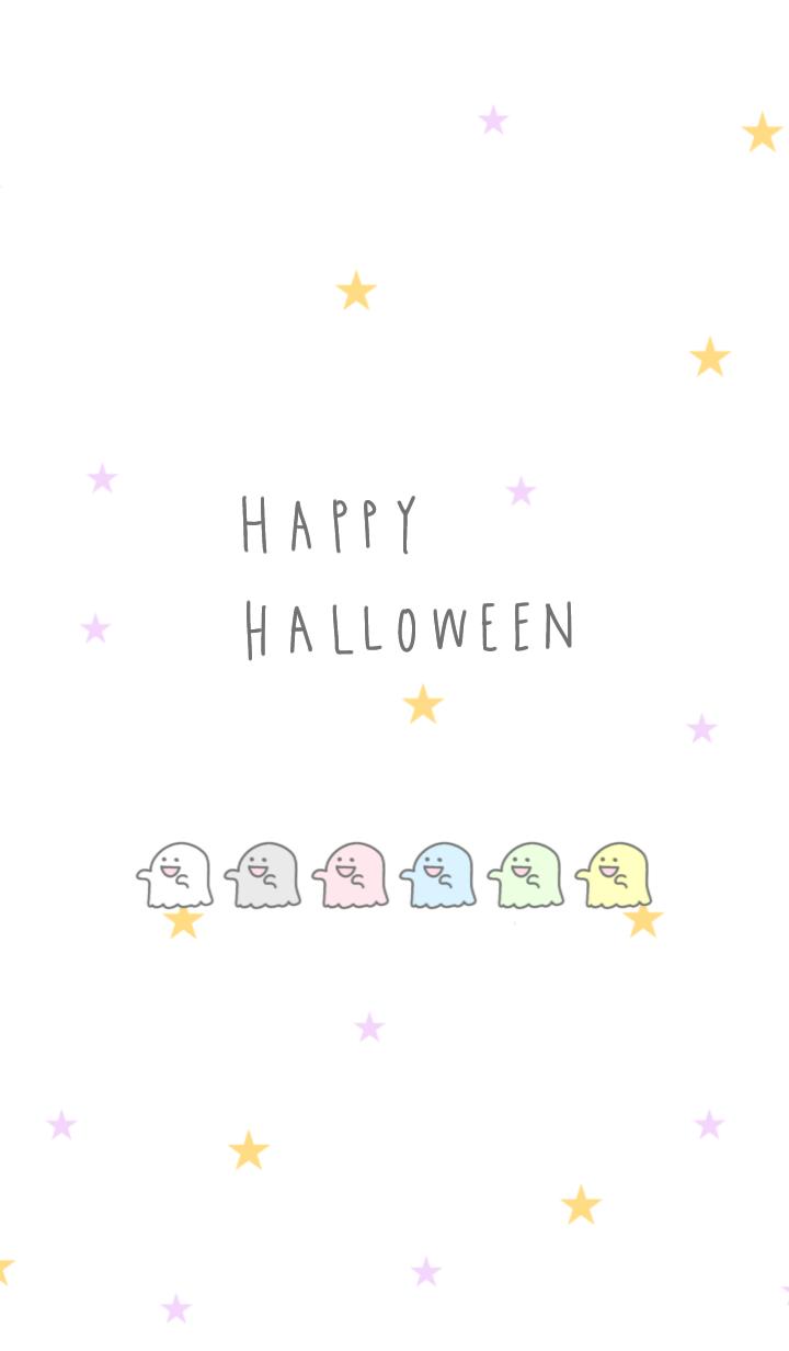 pastel ghost Halloween 2019 jp