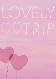 7b975c939cd3c Lovely trip world – LINE theme | LINE STORE