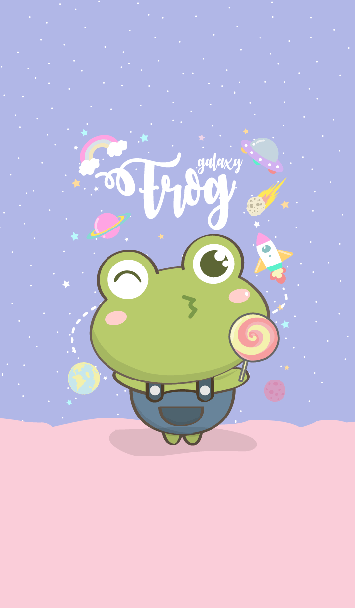 frog galaxy lover (Cute ver.)
