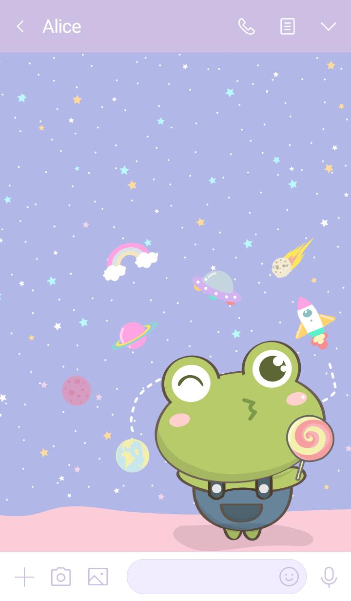 frog galaxy lover (Cute ver.)