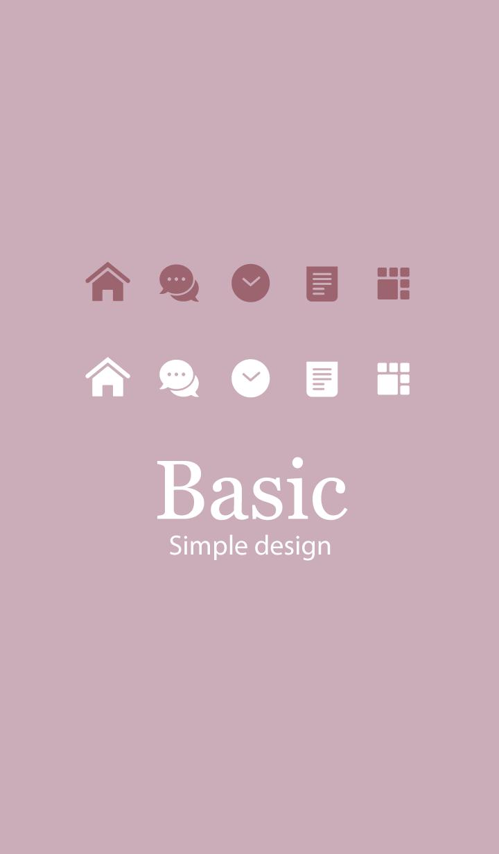 Basic. [Dusty Light Pink]
