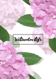 Watercolor style Theme 18