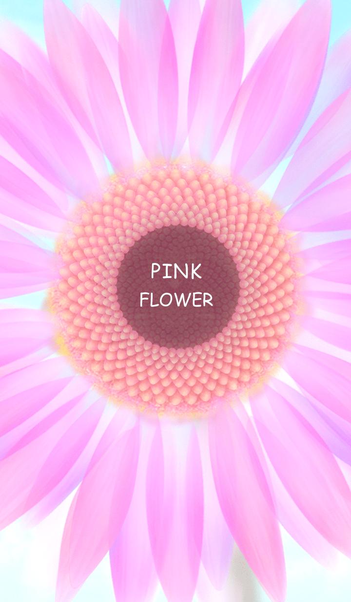 - PINK FLOWER -