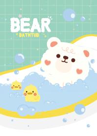 Bear Bathtub Mint