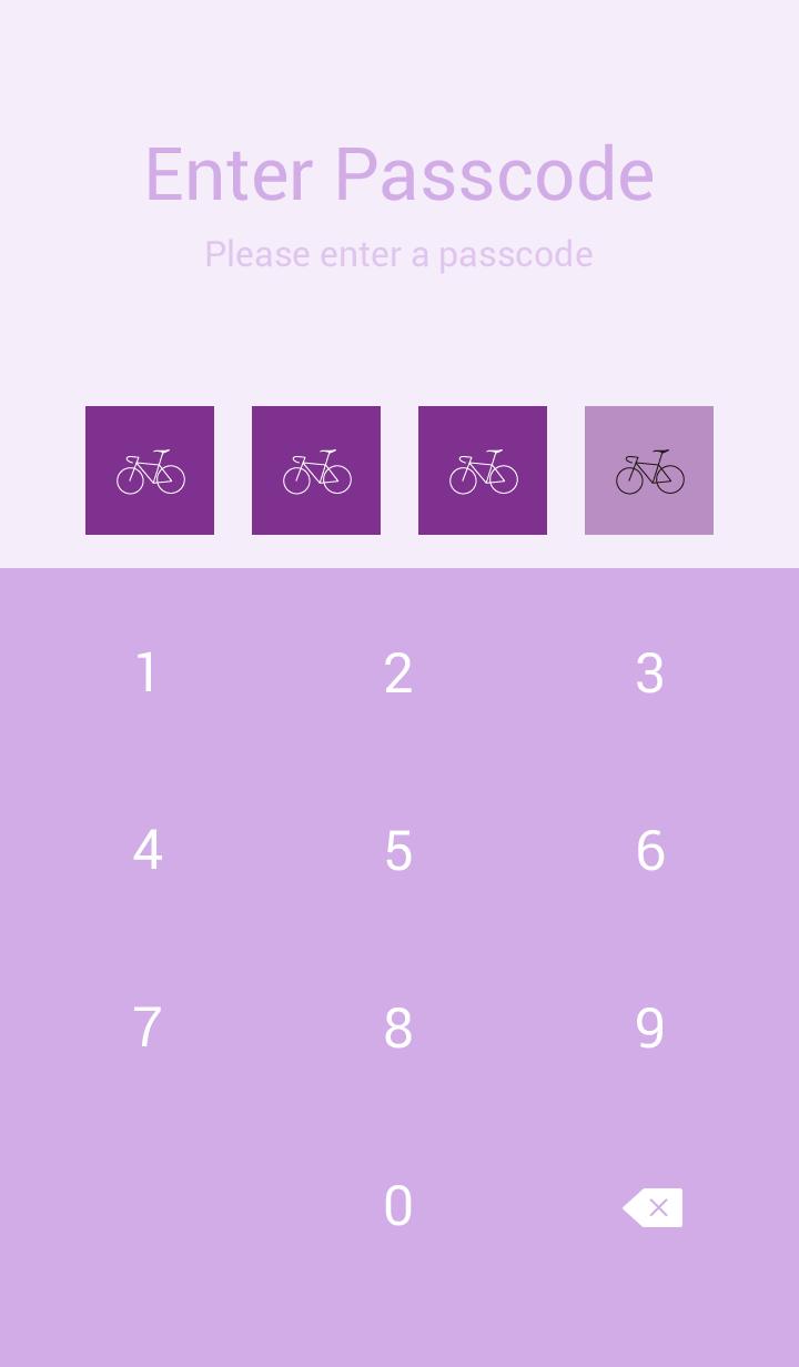 공로 자동 行车 (보라색)(포도)(일제 )