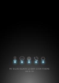 MY BLUE BLACK LIGHT ICON