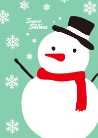 Snow shines-Green- joc