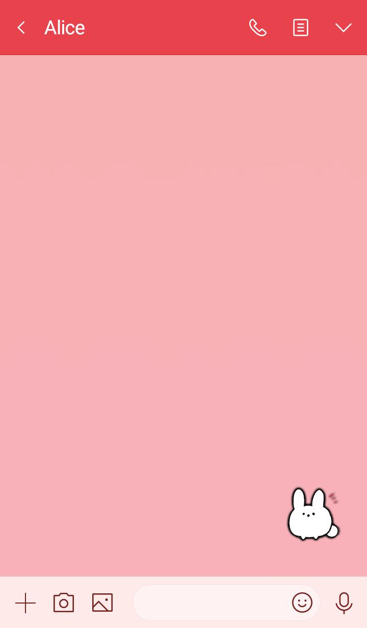 Simple mochi rabbit