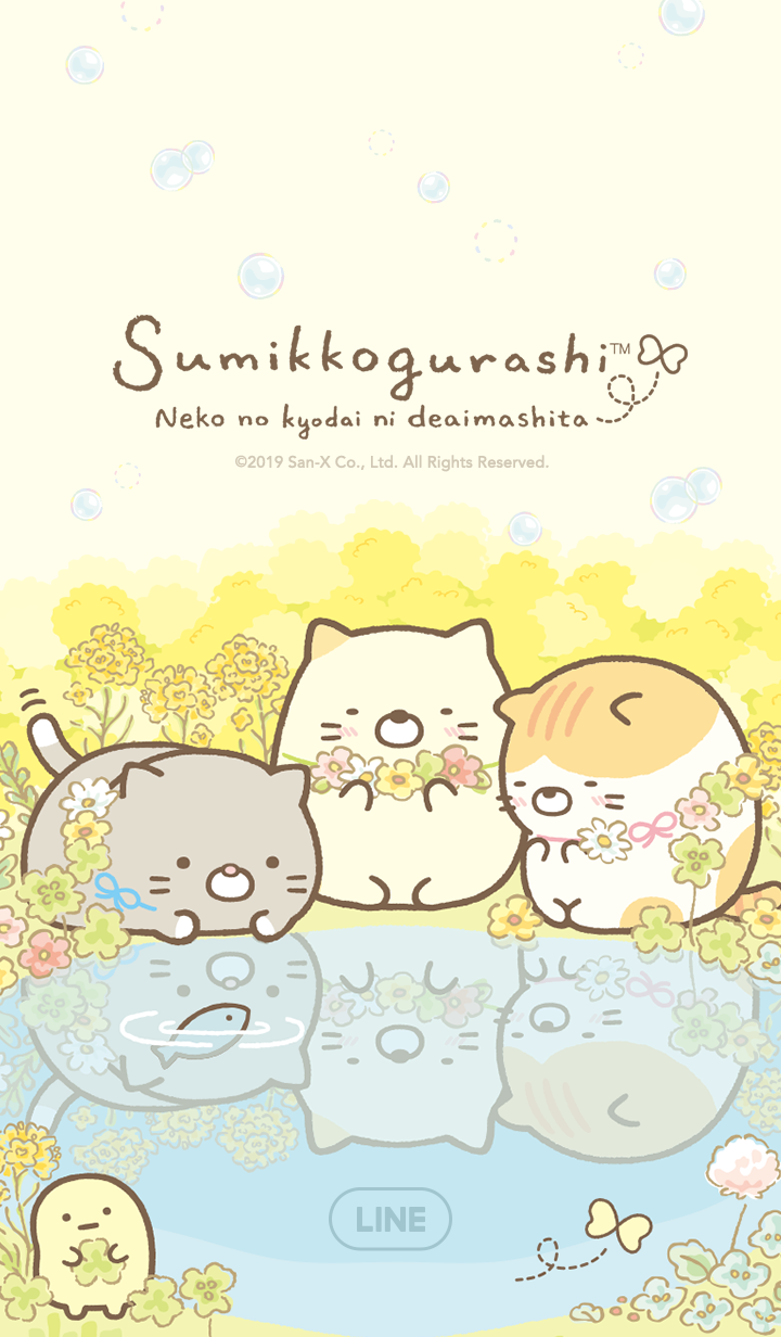 Sumikko Gurashi~Neko no kyodai~