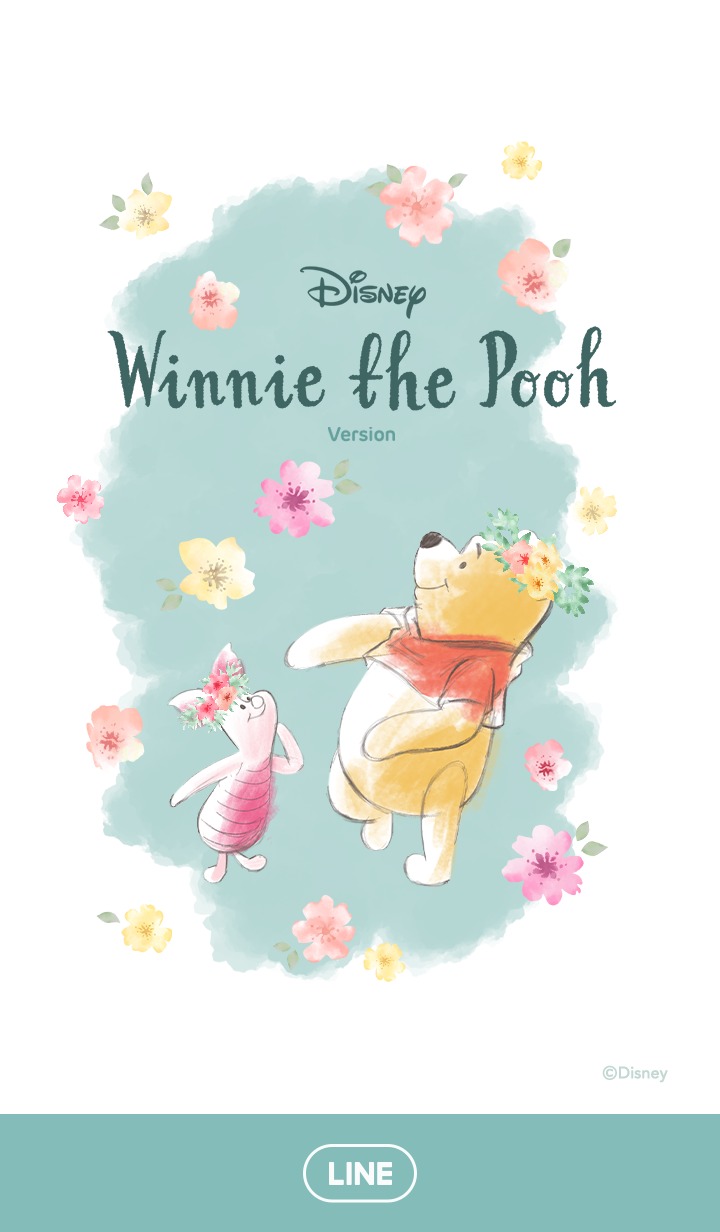 หมีพู ดอกไม้ในสายลม