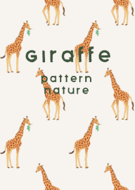 Giraffe Pattern--nature--