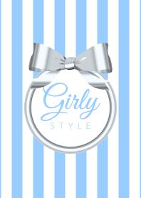 Girly Style-SILVERStripes-v...
