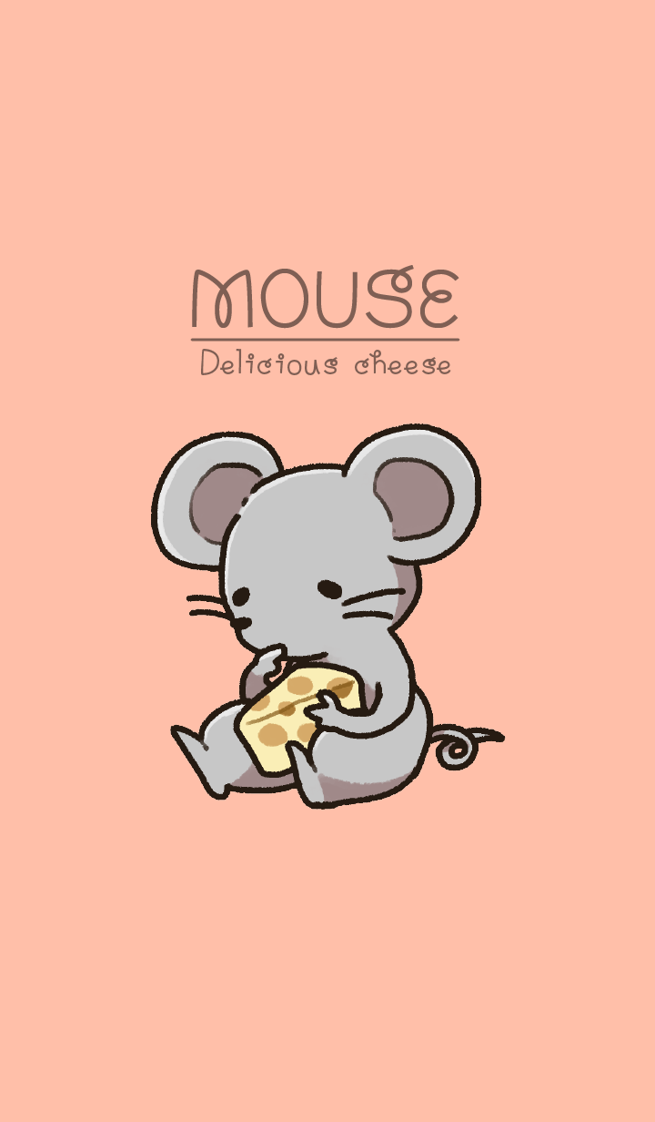 Mouse and delicious cheese JP