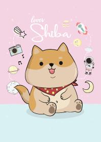 Shiba dog lover.