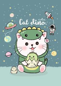 Cat Cute Dino Costume.