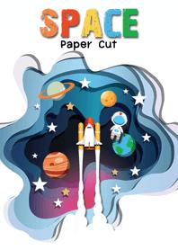 Paper cut : Space