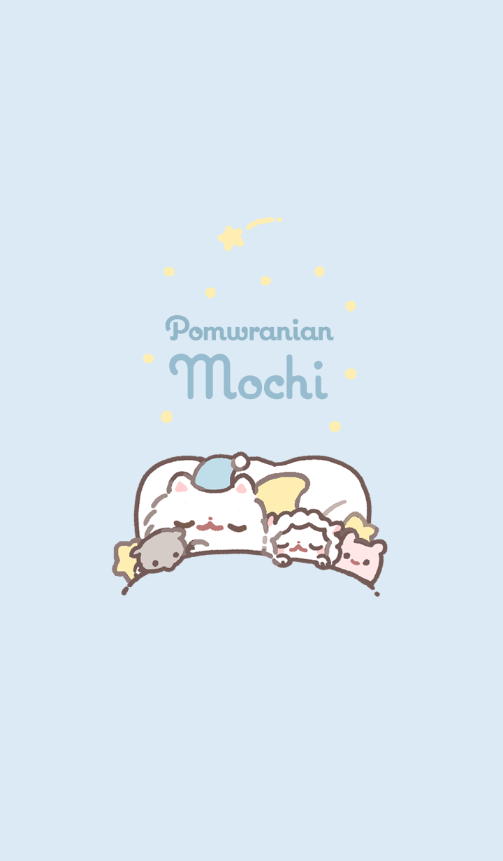Pomeranian Mochi -GoodNight-