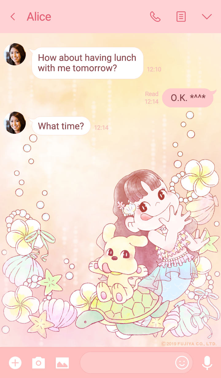 .*o♡マーメイドペコちゃん♡o*.