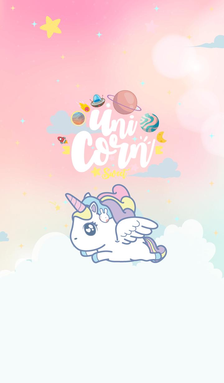 Unicorn Sweet Galaxy Angel