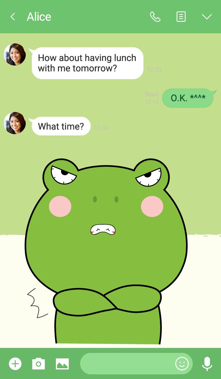 I Love Cute Frog Theme V.1 (jp)