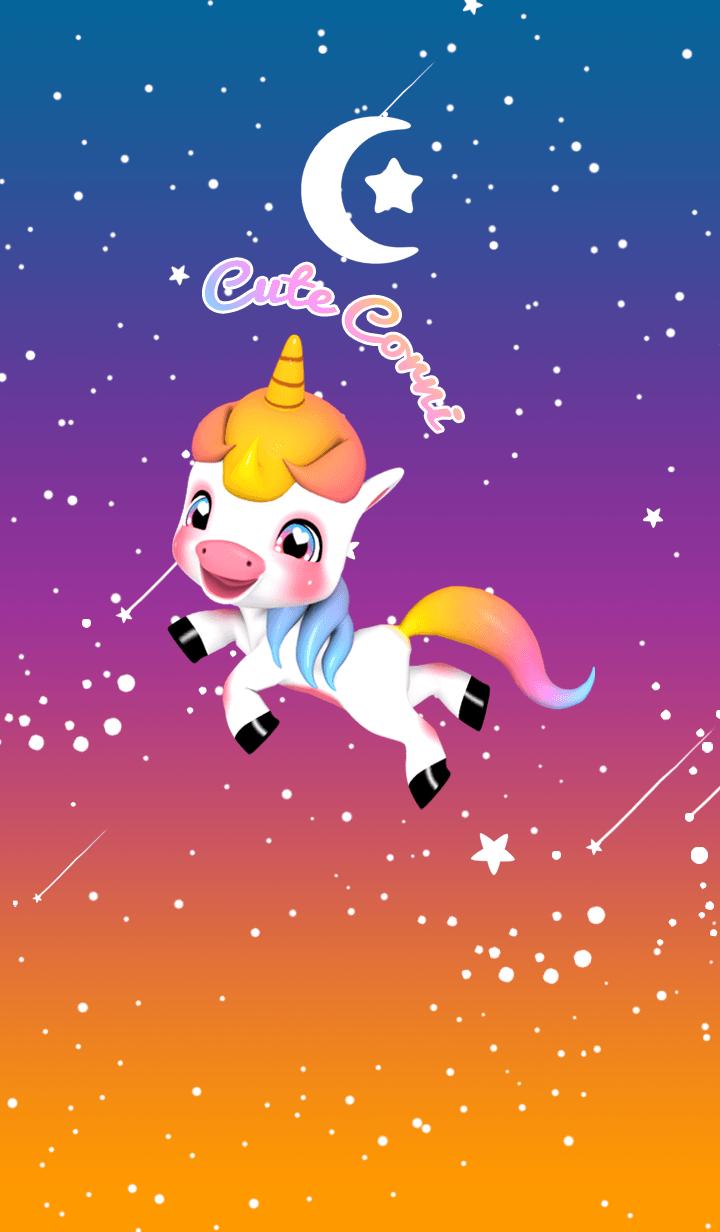 Cute Corni Unicorn