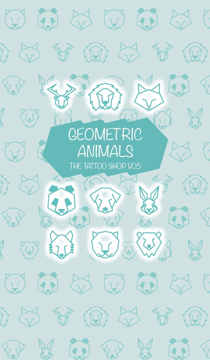 THE TATTOO SHOP V05 GEOMETRIC ANIMALS